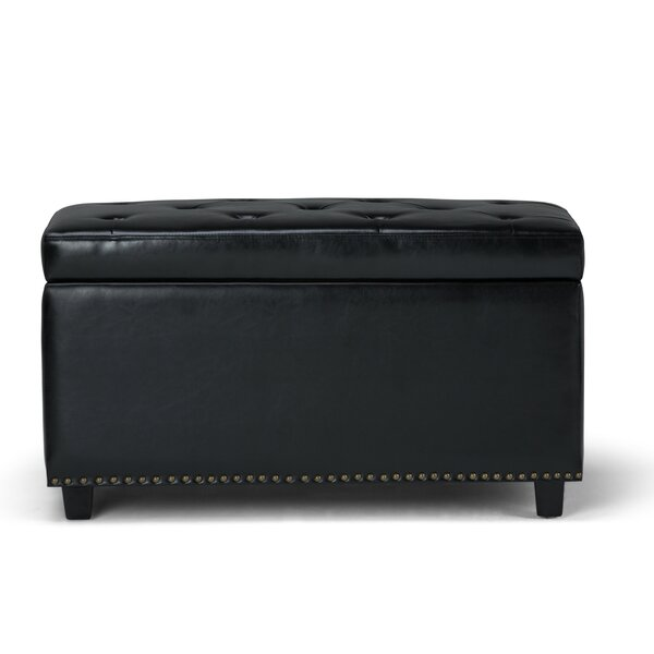 Burling Upholstered Storage Bench by Charlton Home