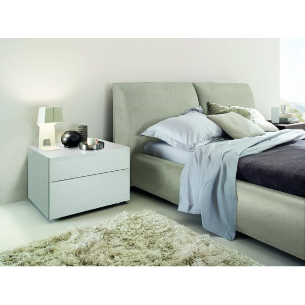 Pavo Upholstered Platform Bed by Rossetto USA