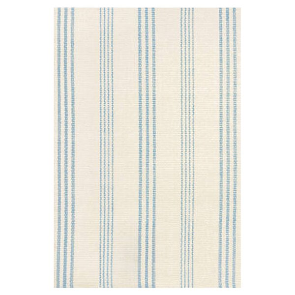 Hand Woven Blue/Ivory Area Rug by Dash and Albert Rugs
