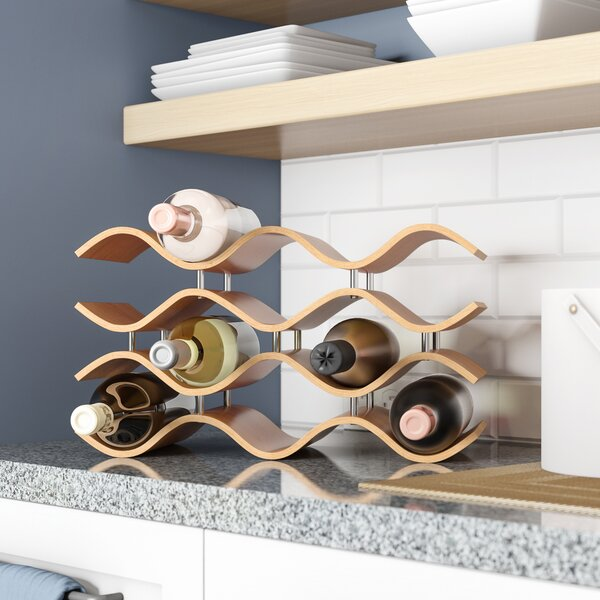 Wittmer 10 Bottle Tabletop Wine Rack by Wade Logan