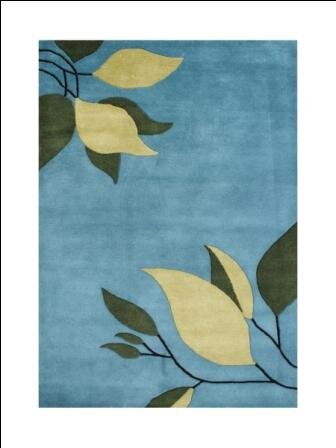 Francisco Hand-Tufted Alaskan Blue Area Rug by The Conestoga Trading Co.