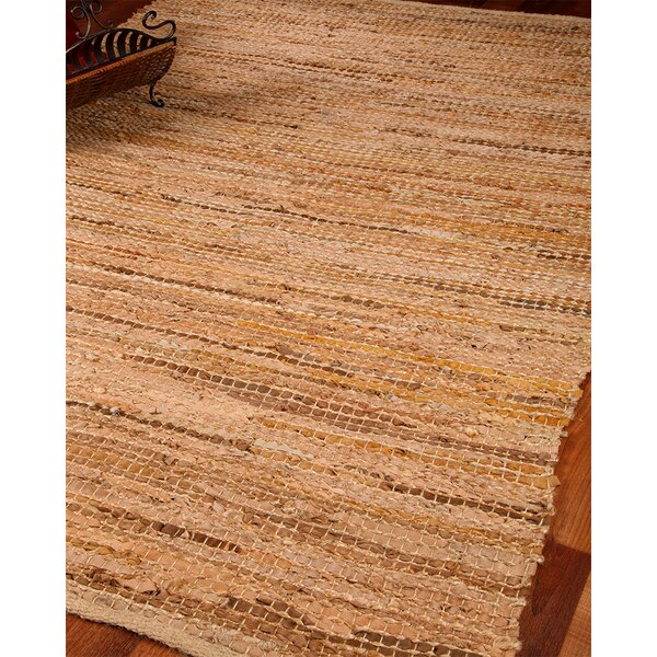 Cardinal Leather Hand Loomed Area Rug by Natural Area Rugs