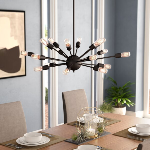 Weiss 18-Light Chandelier by Langley Street