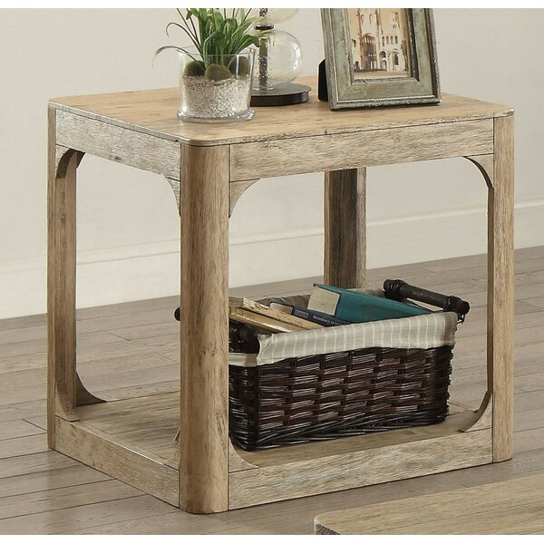 Kearns End Table by Rosecliff Heights