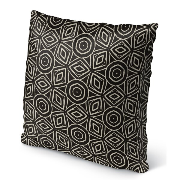 Bryant Cotton Indoor/Outdoor Geometric Throw Pillow