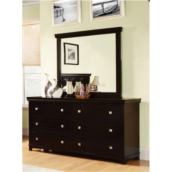 Crissyfield 6 Drawer Double Dresser by Latitude Run