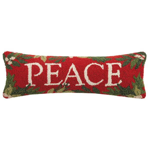 Coles Peace Hook Lumbar Pillow by The Holiday Aisle
