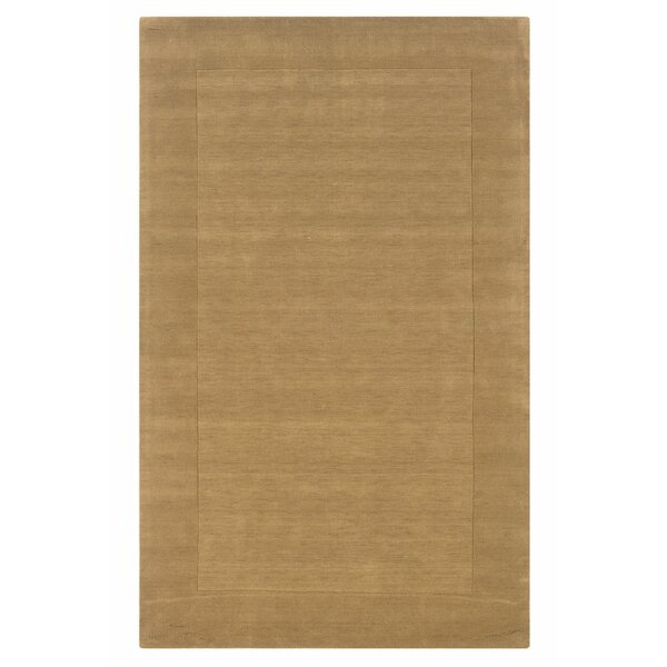 Hand-Woven Latte Area Rug by The Conestoga Trading Co.