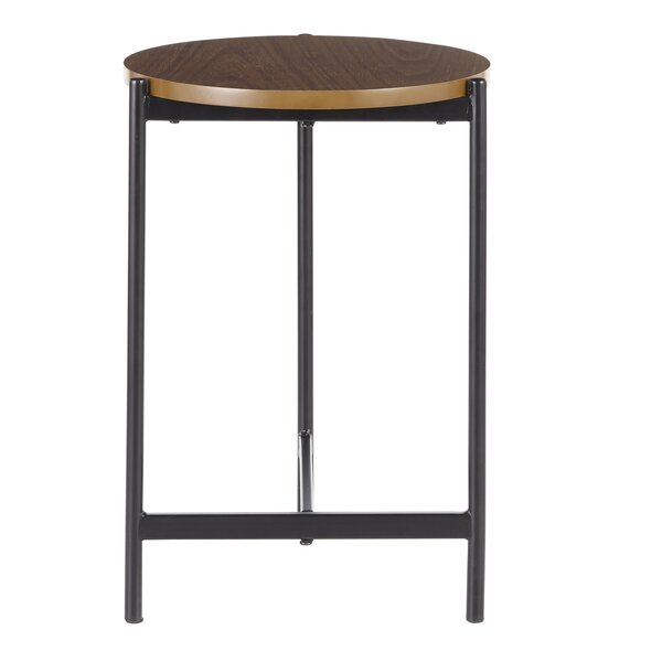 Hallwood End Table By Wrought Studio