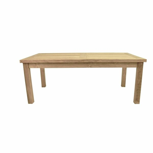 Ayaan Solid Wood  Coffee Table by Highland Dunes