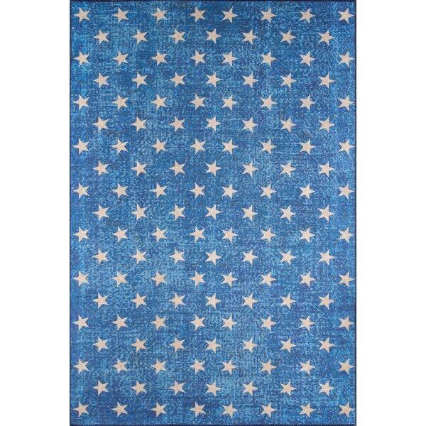 Stars Blue Area Rug by Novogratz By Momeni