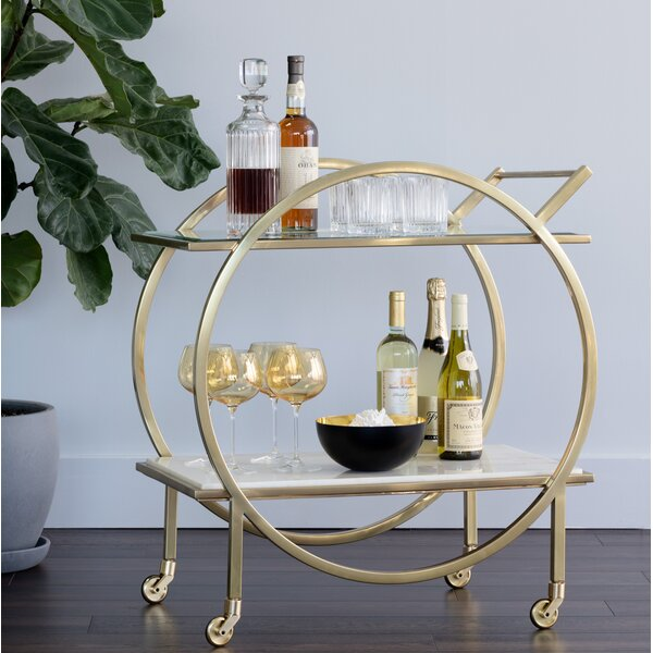 Moncasa Bar Cart By Sunpan Modern #1