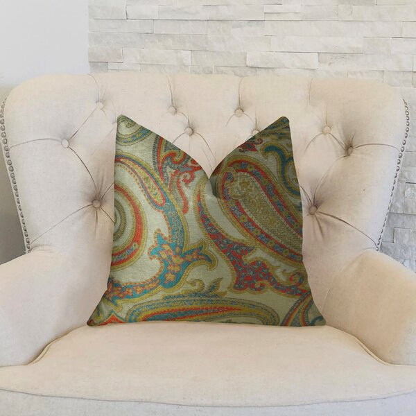 Paisley Cove Double Sided Throw Pillow by Plutus Brands