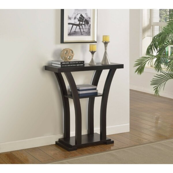 Otero Wooden Console Table by Winston Porter