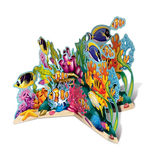 3-D Coral Reef Stand-Up by The Beistle Company