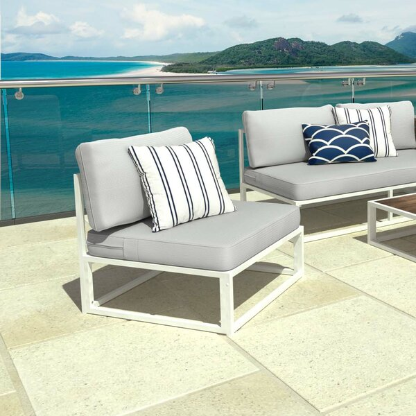 Outdoor Patio Chair with Cushions (Set of 2) by Zinus