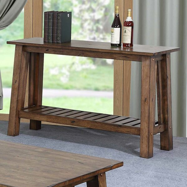 Review Rutledge Solid Wood Console Table