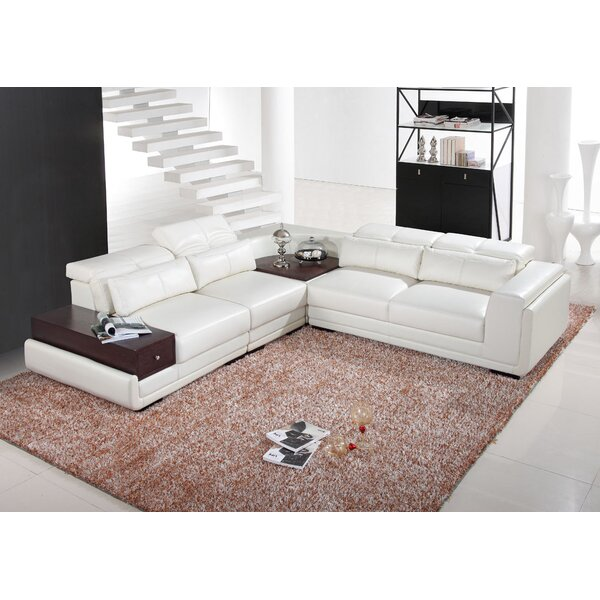 Mankato Reclining Sectional by Hokku Designs