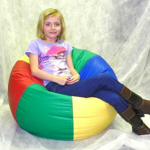 Kidz Rule Bean Bag Chair by Rush Furniture