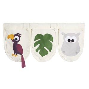 Textiles Jungle Pocket (Set of 3) by FLEXA