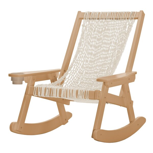 Amalia Duracorda Rocking Chair by Mistana