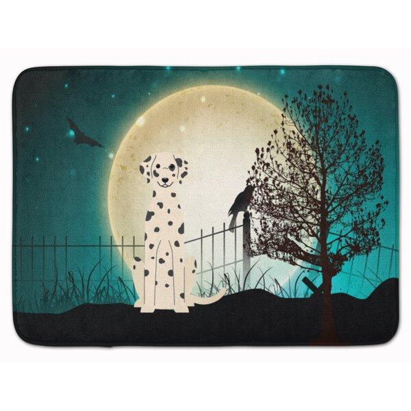 Testa Scary Dalmatian Memory Foam Bath Rug by The Holiday Aisle