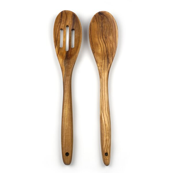 2-Piece Solid and Slotted Spoon Set by RSVP-INTL