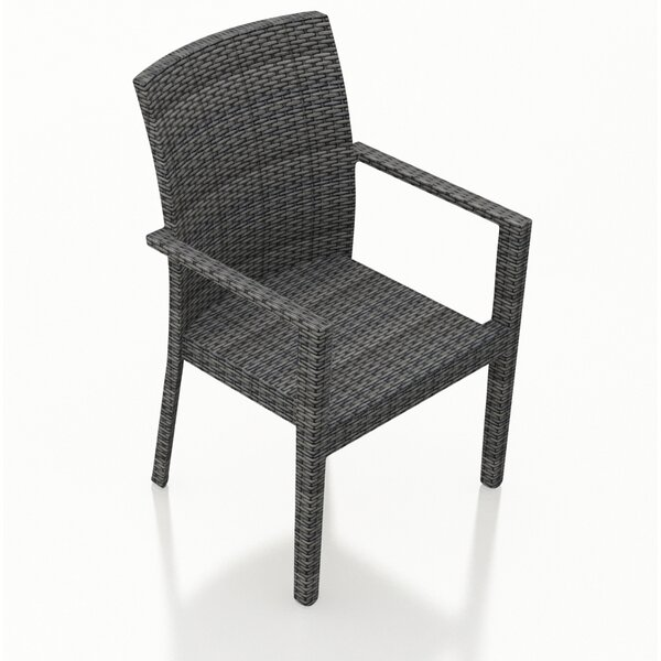 Hobbs Patio Dining Chair (Set of 2) by Rosecliff Heights