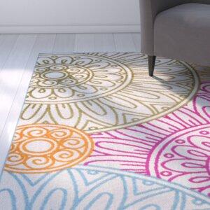 Dorinda Pink/Orange Indoor/Outdoor Area Rug