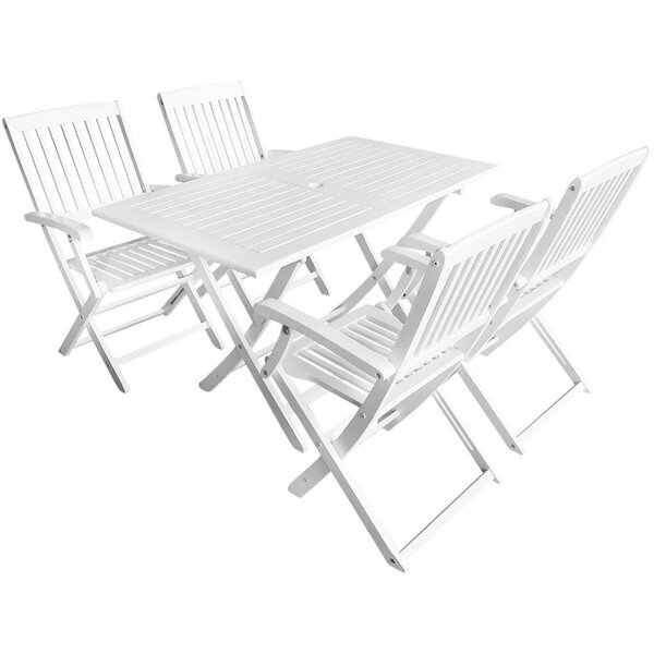 Felder 5 Piece Dining Set by Highland Dunes