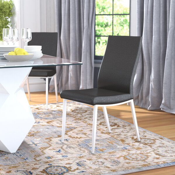 Stone Street Contemporary Side Chair (Set of 2) by Wrought Studio