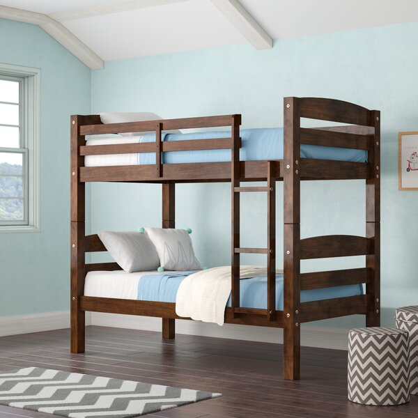 Jailyn Twin Over Twin Bunk Bed By Harriet Bee by Harriet Bee Great price