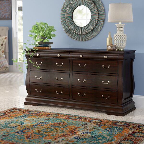 Liverpool 6 Drawer Double Dresser by World Menagerie