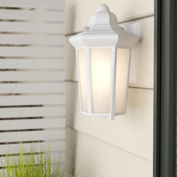 Nordica 1-Light Outdoor Flush Mount by Rosecliff Heights