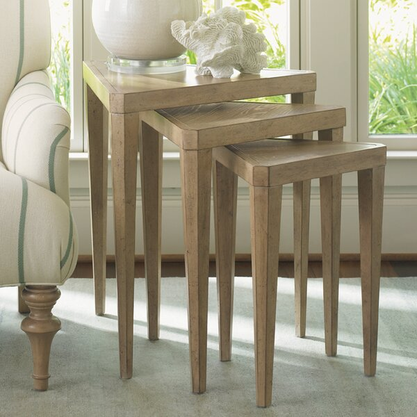 Monterey Sands Cupertino 3 Piece Nesting Tables by Lexington