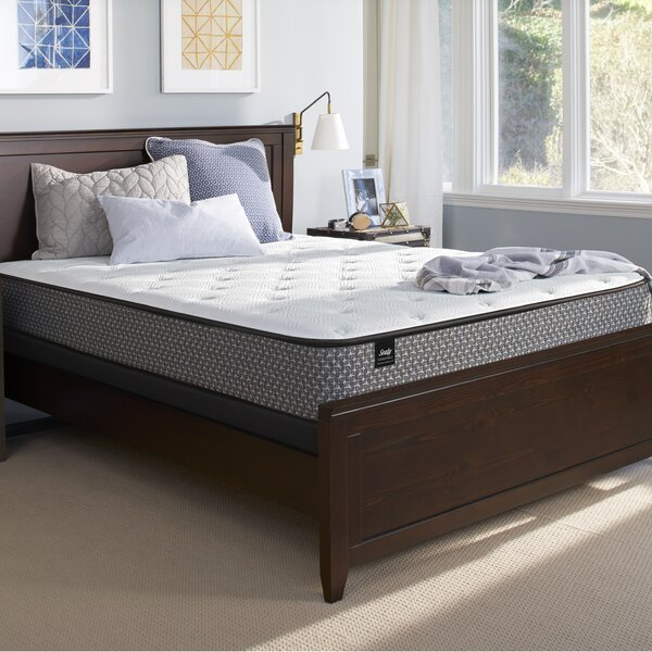 Response™ Essentials 13.5 Firm Tight Top Mattress and 5 Box Spring by Sealy