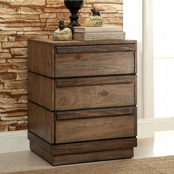 Armentrout 3 Drawer Nightstand by Foundry Select