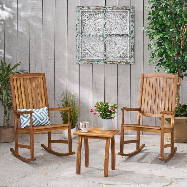 Verla 3 Piece Seating Group by August Grove