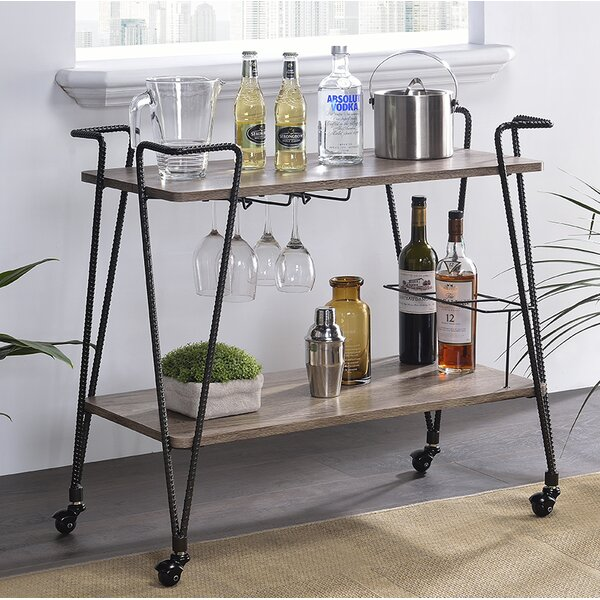 Minyard Bar Cart by Williston Forge Williston Forge