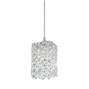 Crystal pendants youll love wayfair refrax 1 light mini crystal pendant aloadofball Gallery