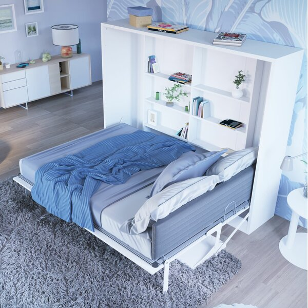 Gautreau Full/Double Murphy Bed by Brayden Studio