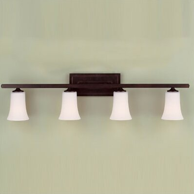 Boulevard 4-Light Vanity Light by Feiss