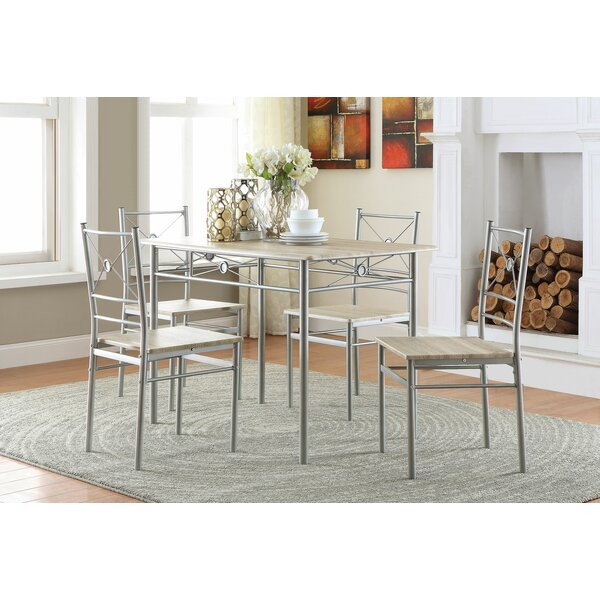 Winnie 5 Piece Dining Set by Charlton Home