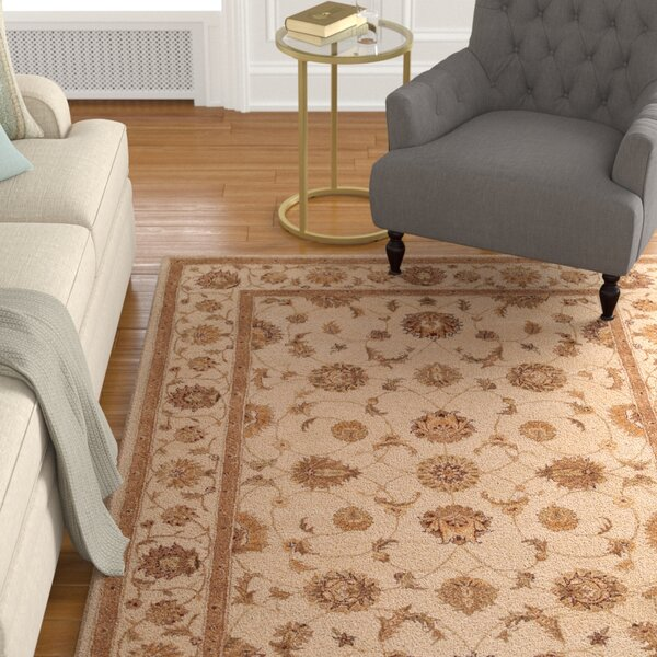 Lundeen Brown Area Rug by Astoria Grand