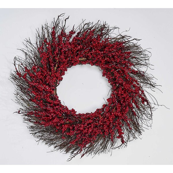 Berry 22 Styrofoam Wreath by August Grove