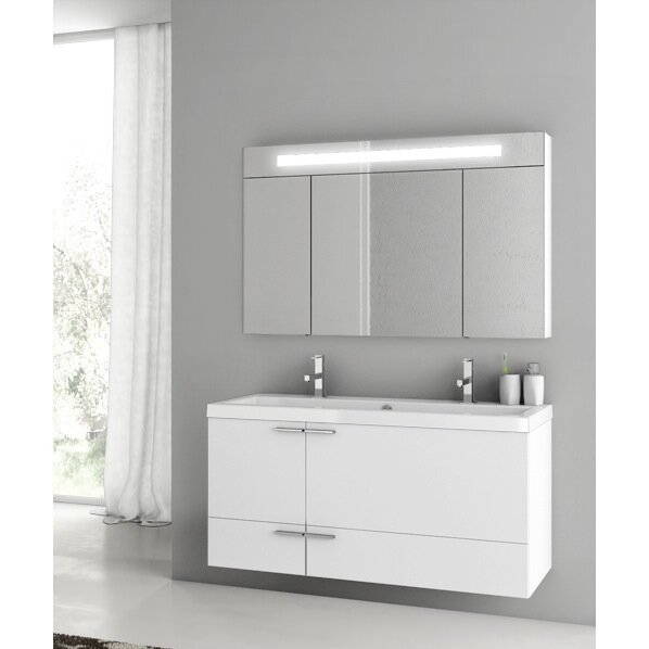 Letourneau 47 Double Bathroom Vanity Set