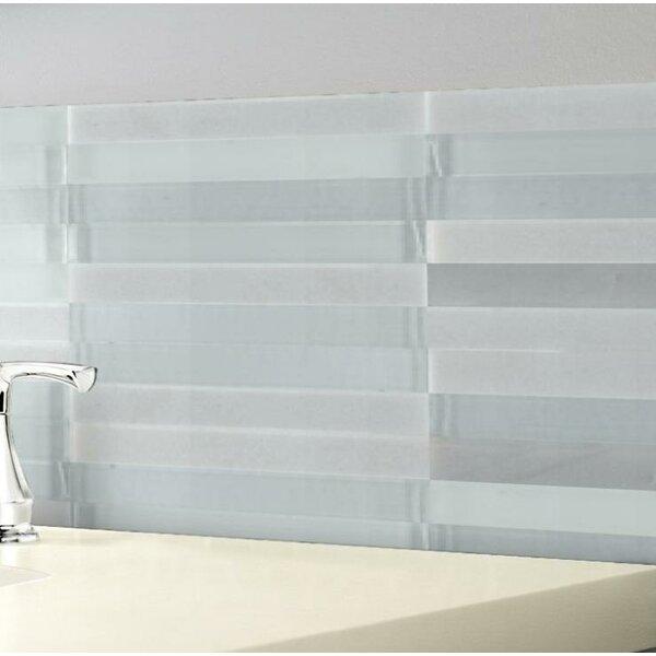 Illumina 12 x 12 Glass Stone Blend Mosaic Tile in Flare by Emser Tile