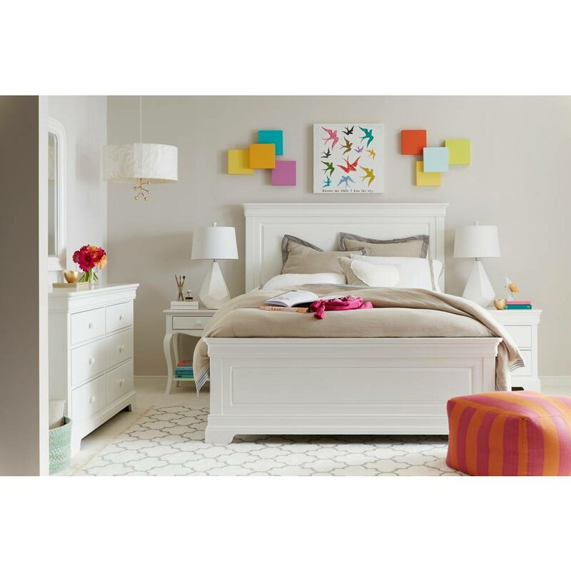 Teaberry Lane Panel Configurable Bedroom Set