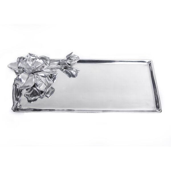 Magnolia Oblong Serving Tray by Arthur Court Designs