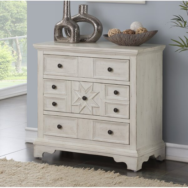 Eward 3 Drawer Dresser/chest By Bloomsbury Market.